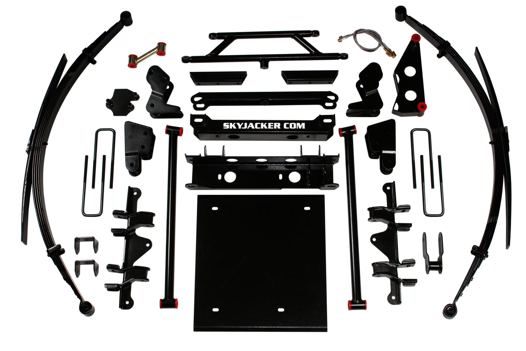 C4636KS-N | 4.5-6 in. Suspension Lift System with Nitro Shocks