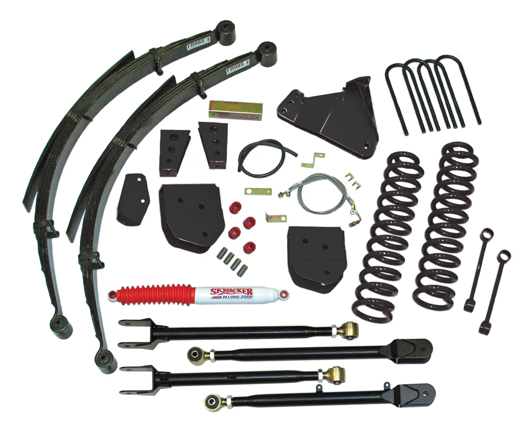 F5852KS-B | 8 in. Suspension Lift System with Black MAX Shocks
